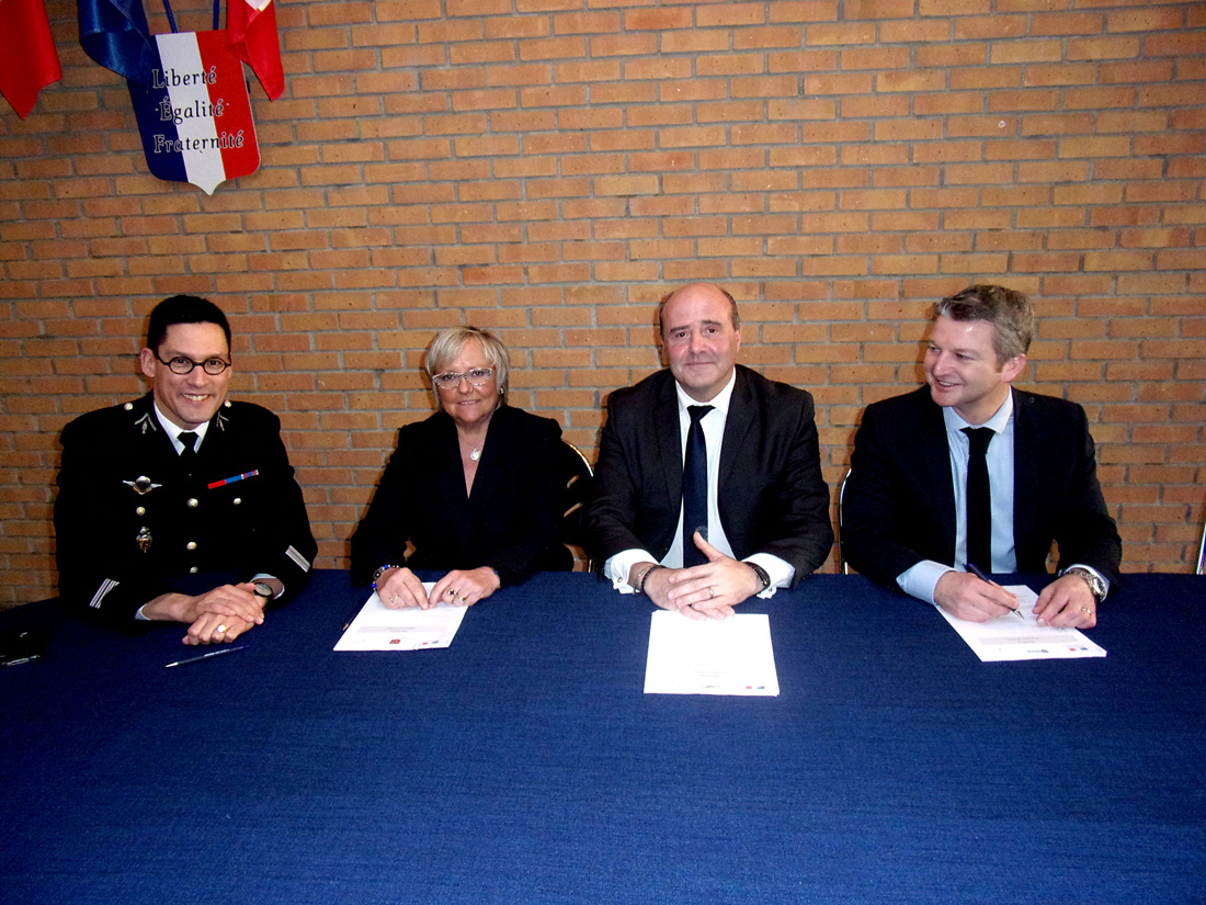 Signature du protocole de participation citoyenne