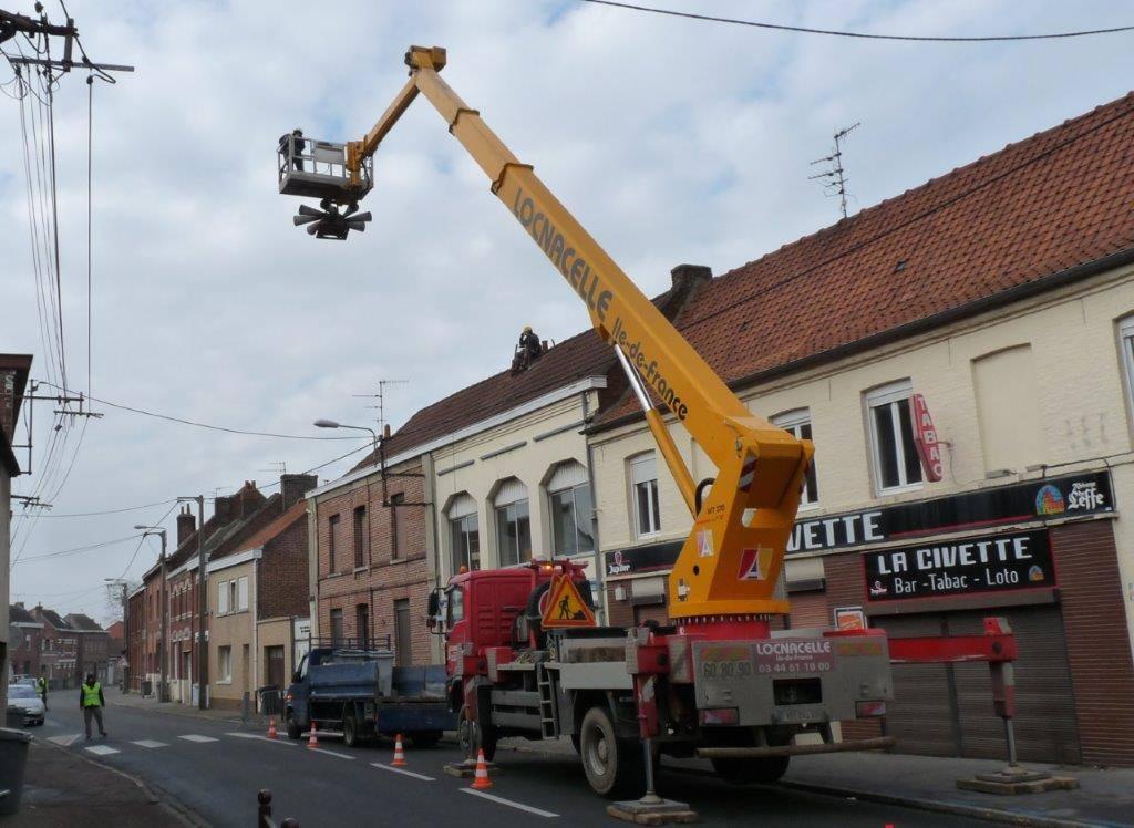Rénovation pour la sirène d'alarme