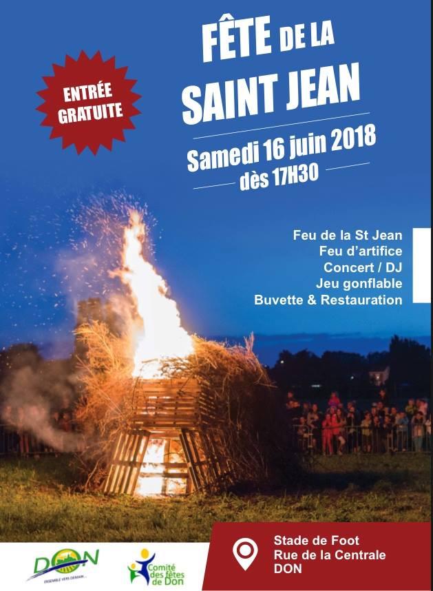 fête de la St Jean !
