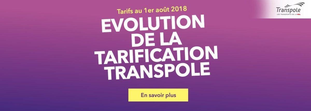 Changement de tarification chez Transpole