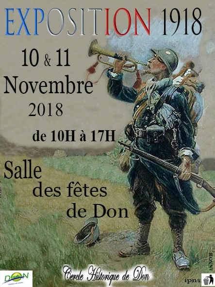 Exposition du Cercle historique 10 et 11 novembre 2018