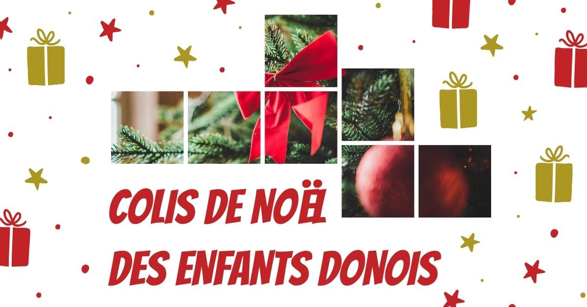 colis de Noël des jeunes Donois