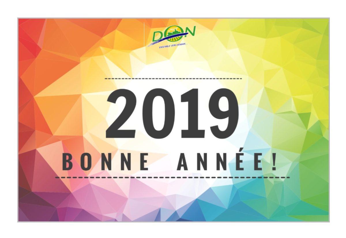 Cérémonie des Vœux du Maire 2019