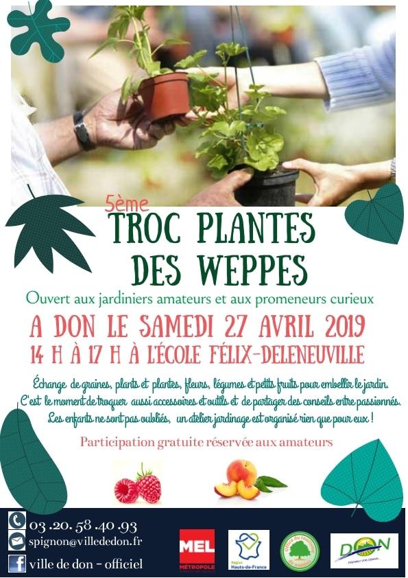 Premier Troc plantes des Weppes organisé à DON