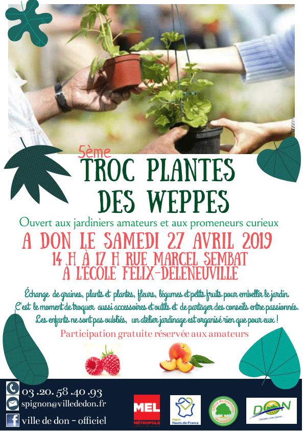 Troc plantes des Weppes