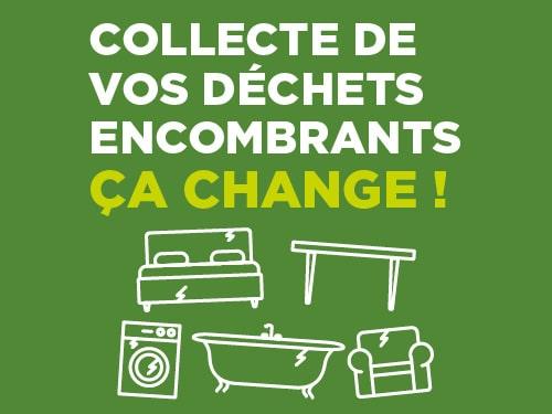 Collecte des déchets encombrants, ça change !